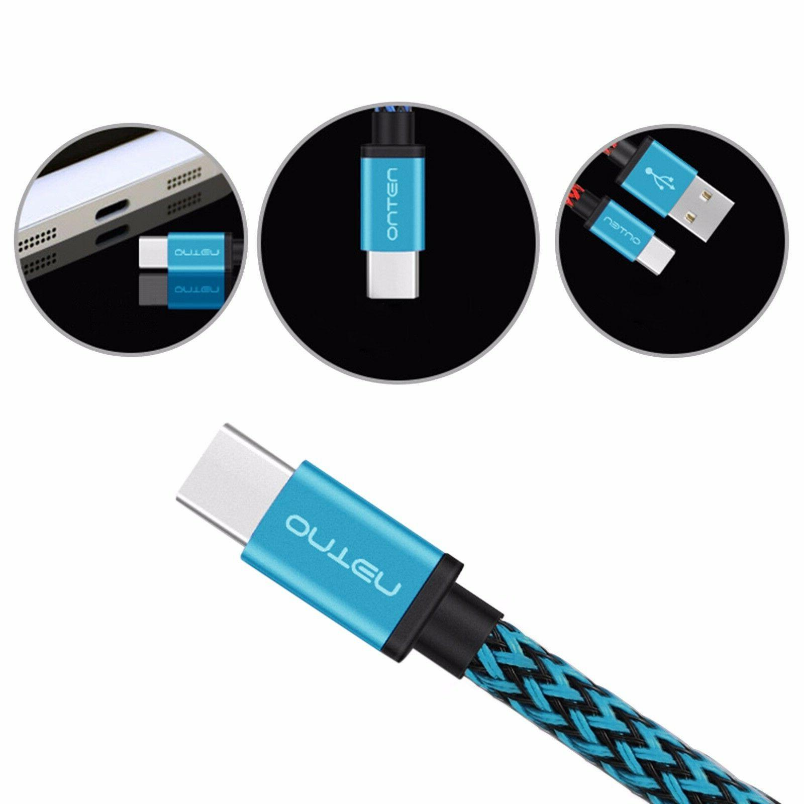 2x USB Charger Cable Cord For Google Nexus U11 10