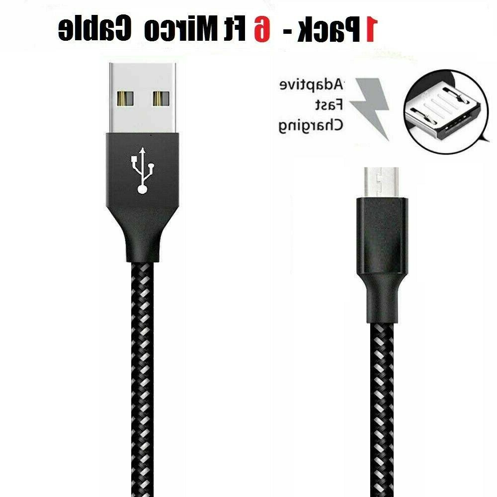 3/6/10Ft Charger Cable Cord For Android