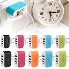 3 usb ports outlet wall charger multi
