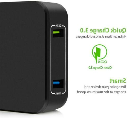 30W Fast Quick Charge QC USB Charger US For