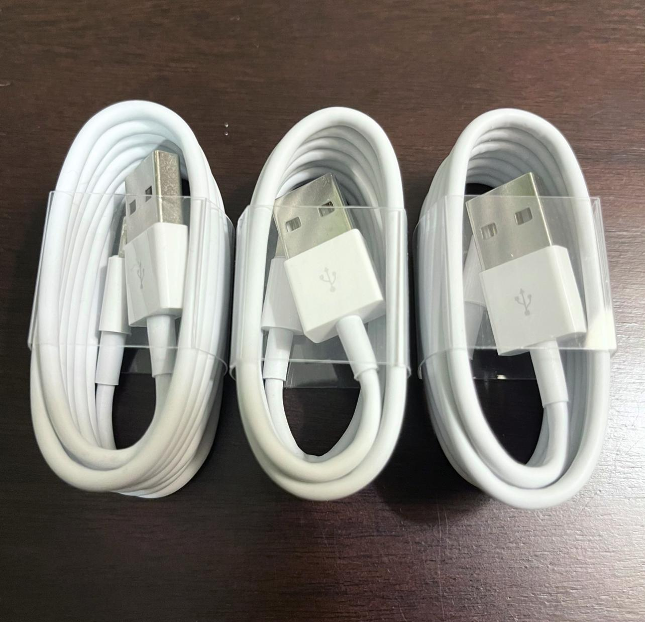 3x oem original fast charger cable charging