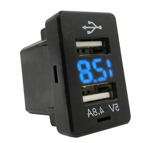 4.8A Car Charger Dual Charging Volt Toyota O