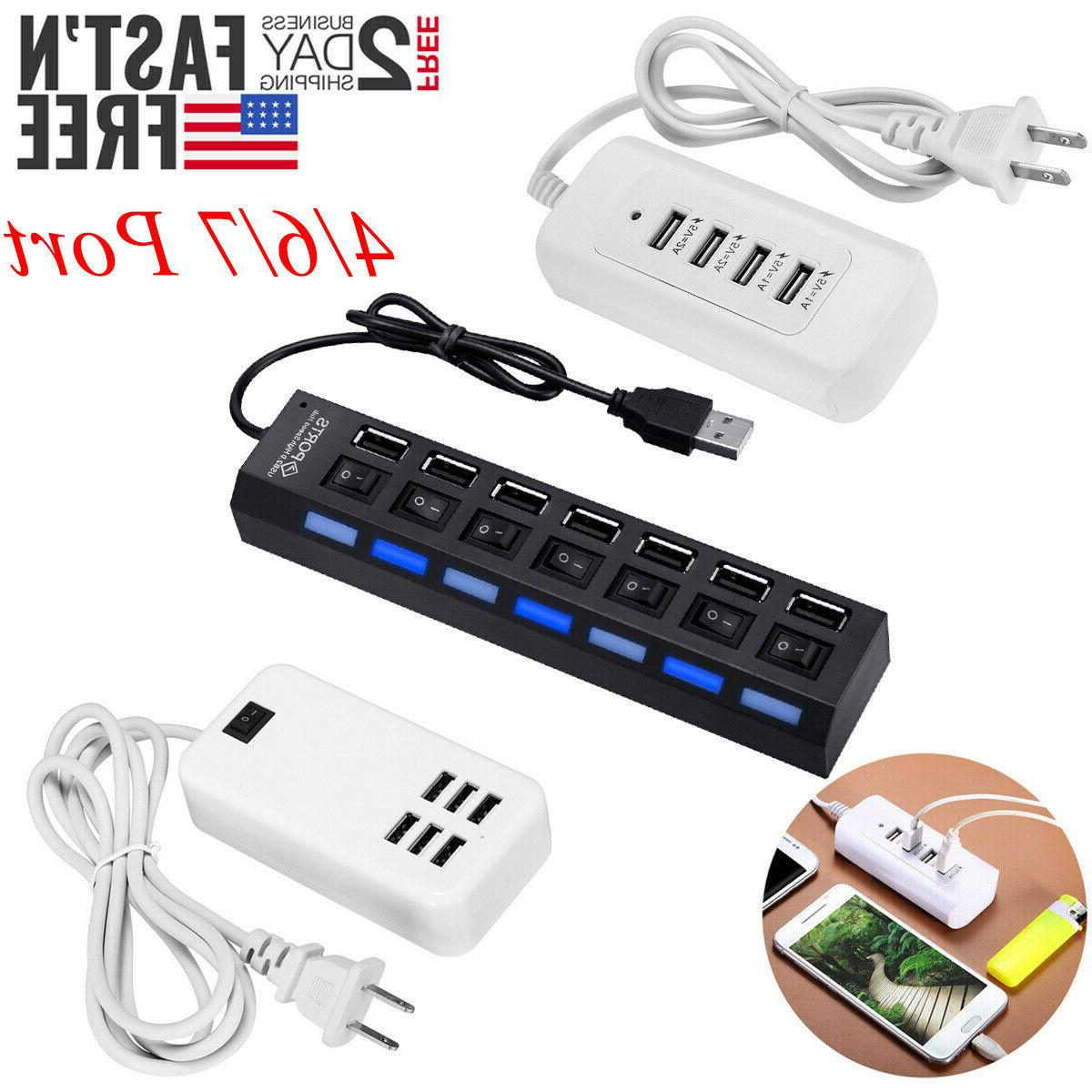 4 port 6 multi port usb wall