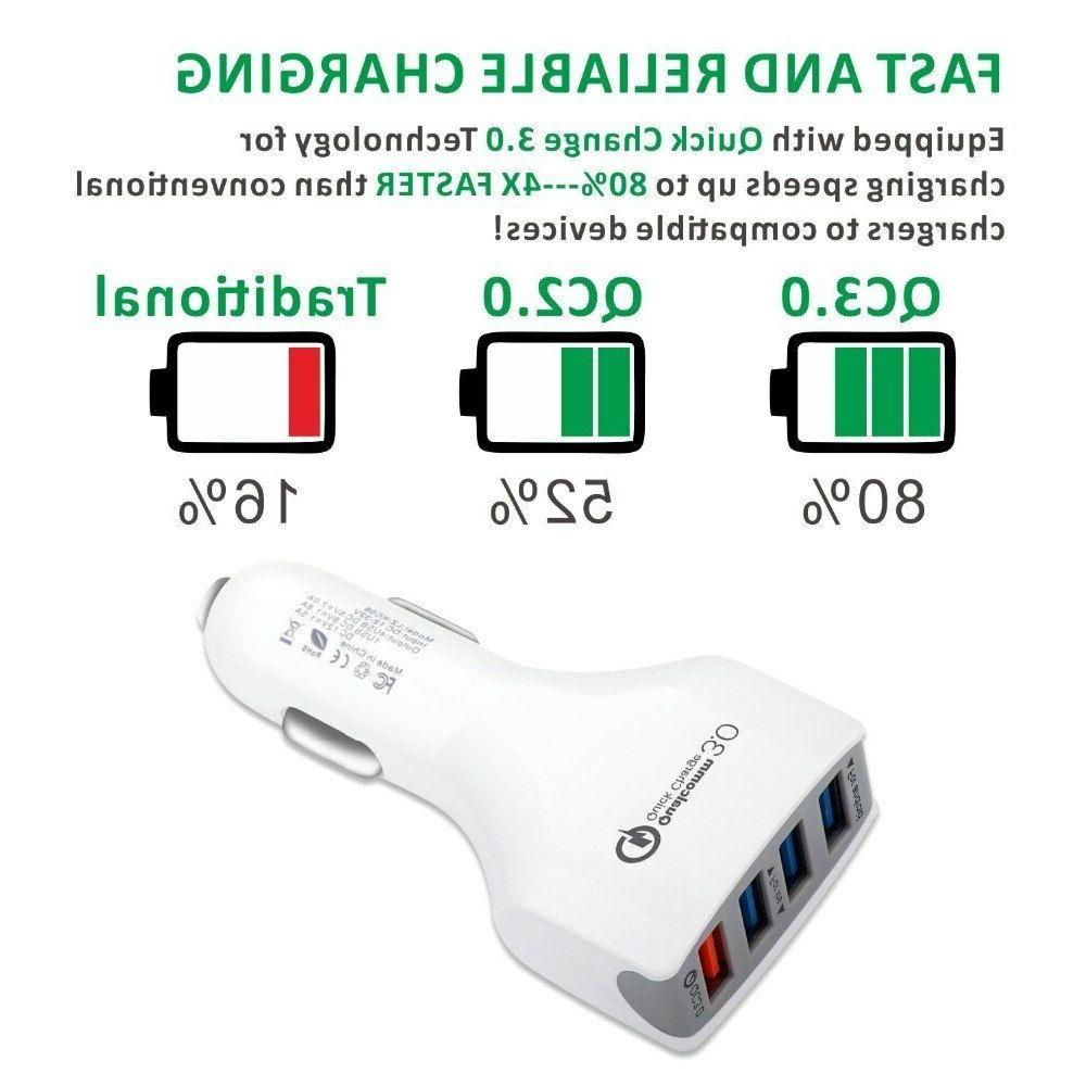 4 Ports For Apple iPhone 8 8 Plus Max