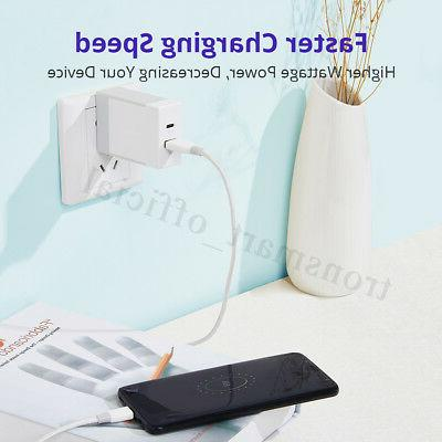 Tronsmart Fast USB Wall Charger For iPhone