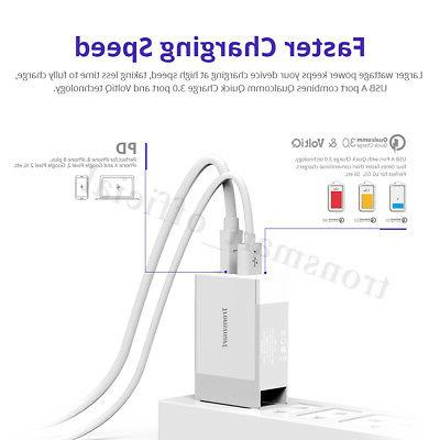 Tronsmart PD Fast USB Charger iPhone MacBook