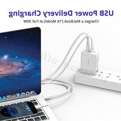 Tronsmart PD & Fast Quick USB Charger iPhone MacBook