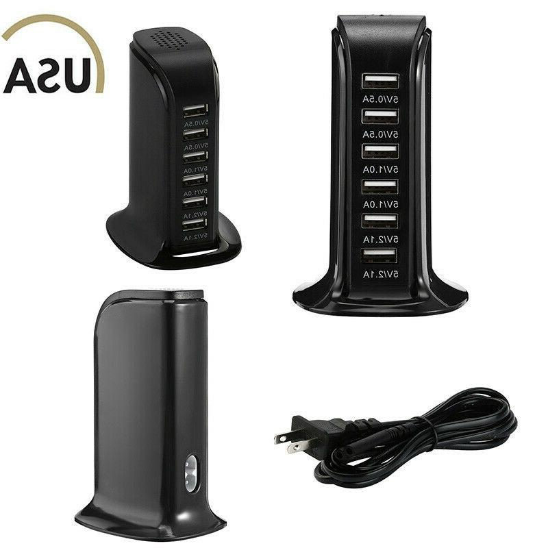 Desktop Fast Charging Station AC Power US Plug