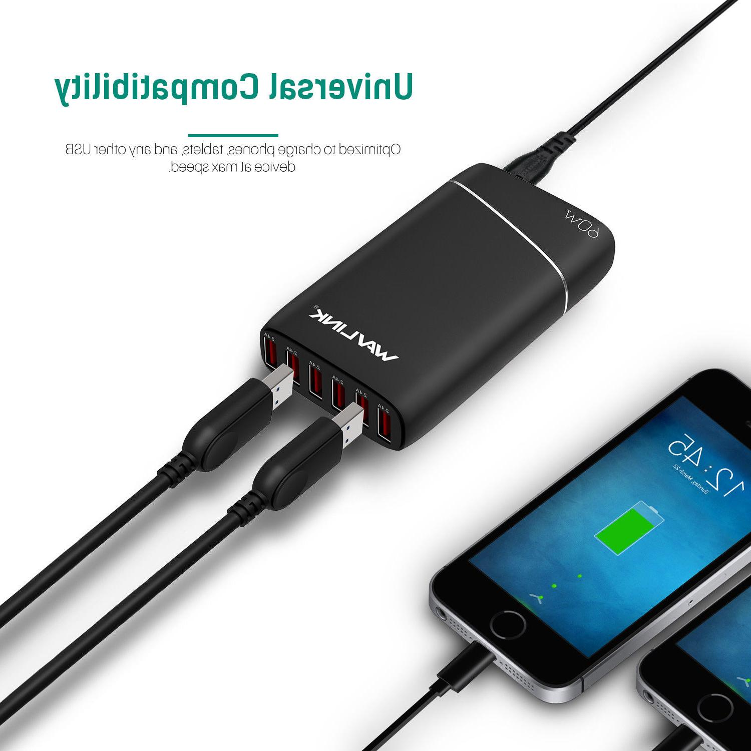 Wavlink Ports Charger 60W Quick Power
