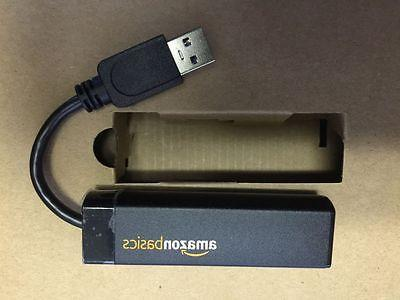 AMAZONBASICS USB 3.0 TO 10/100/1000 GIGABIT ETHERNET ADAPTER