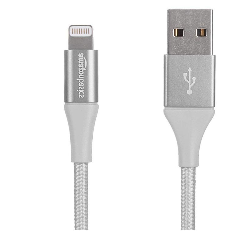 AmazonBasics Lightning USB Cable Charger MFi Certified iPhon