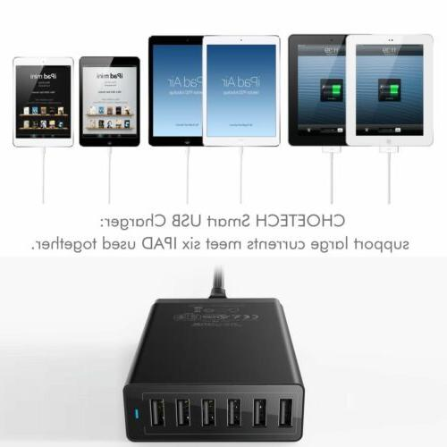Home Travel USB Charger Rapid Hub Power Port