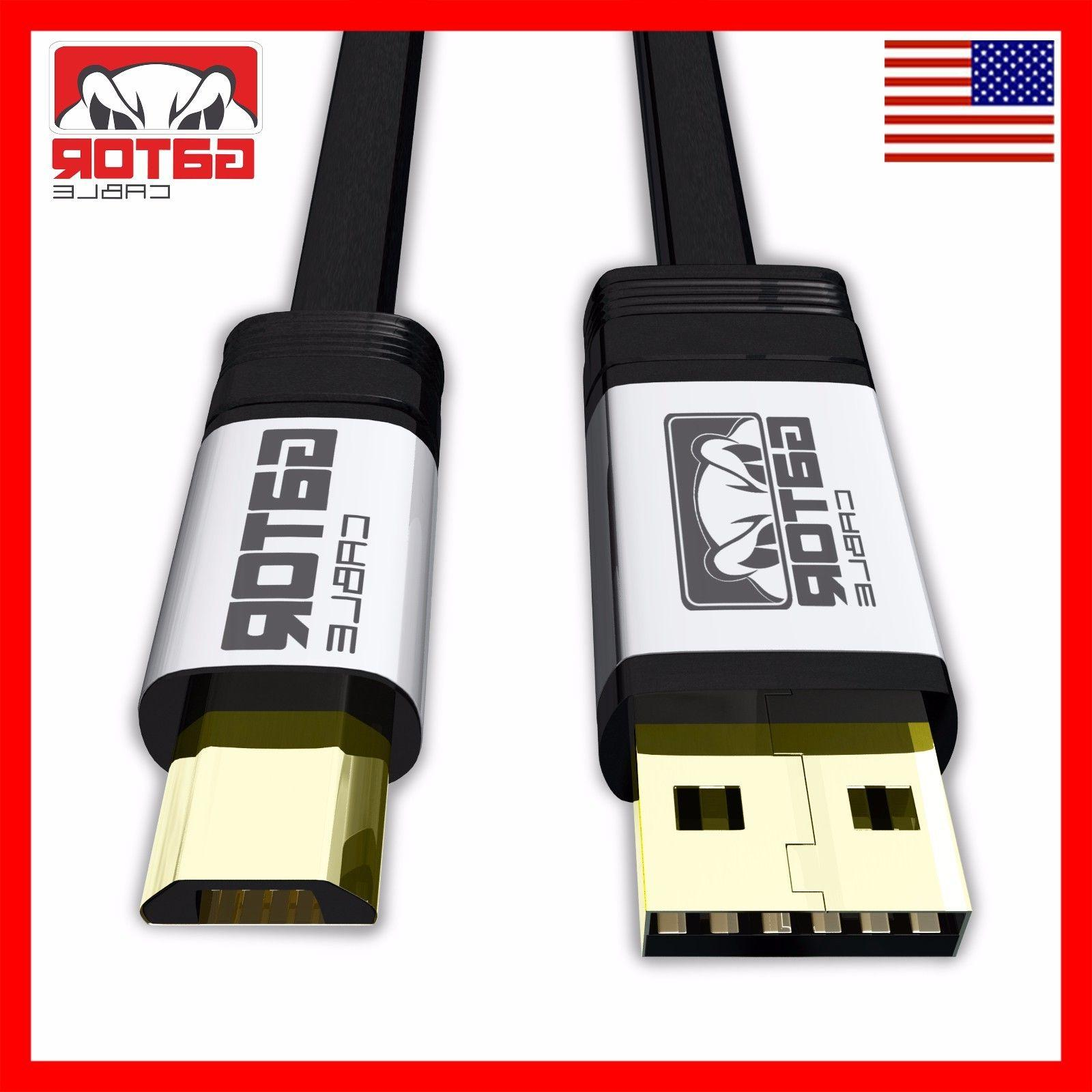 Micro USB Cable 2.0 Fast Charge Data for S6 HTC LG
