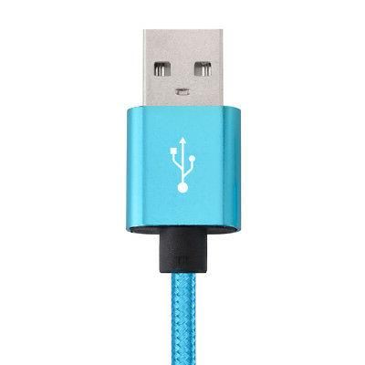 Micro USB Fast Data Sync Cable Nylon Braided