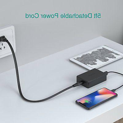 5-Port Multi【Fast Wall Charger Desktop
