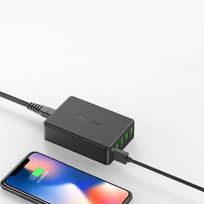 5-Port Multi【Smart Wall Charger Hub 10A