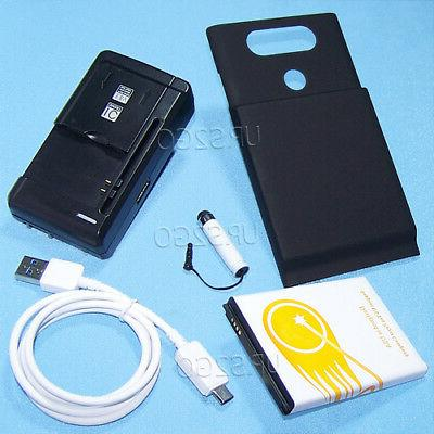 Accessory 10900mAh Extended Battery Charger Cover USB Cable