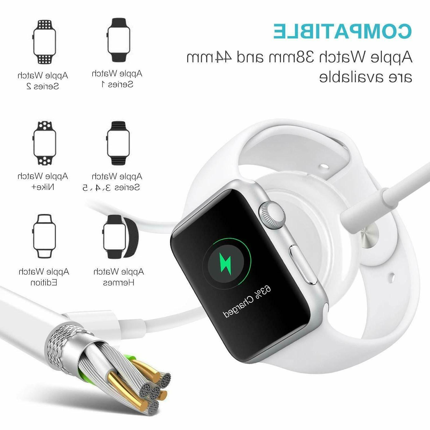 For iWatch Series 1 2 3 4 Magnetic Charging Dock USB