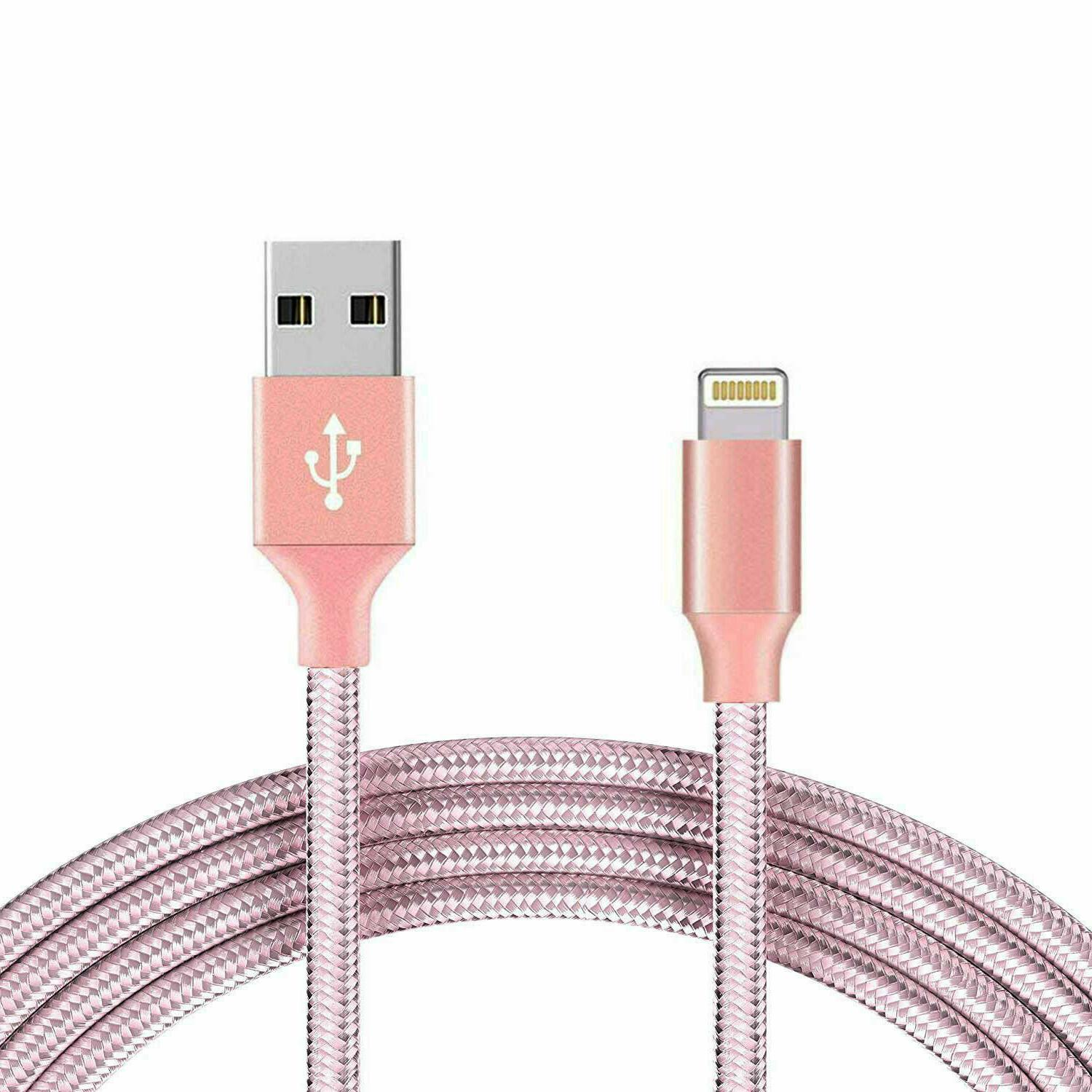 Braided USB Charger Cable 7 8 Xs 3ft 10ft
