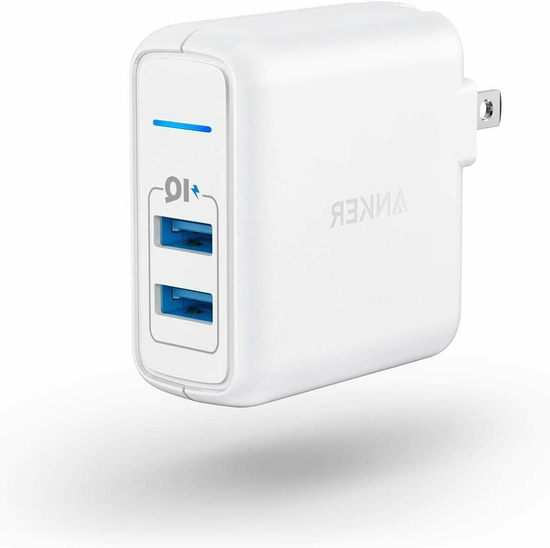 elite usb wall charger powerport
