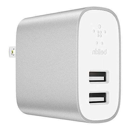Home to USB 24W USB Charger, Silver