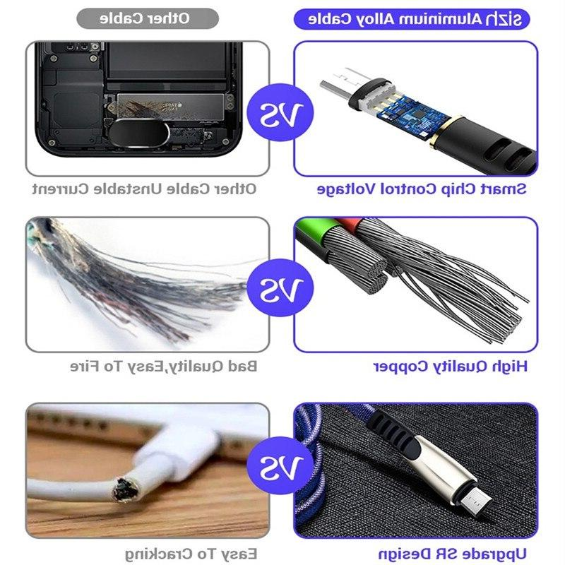 Charging <font><b>usb</b></font> c Cable For Samsung S9 S8 Note 9 P20 Type-c data Phone <font><b>Charger</b></font> Xiaomi F1