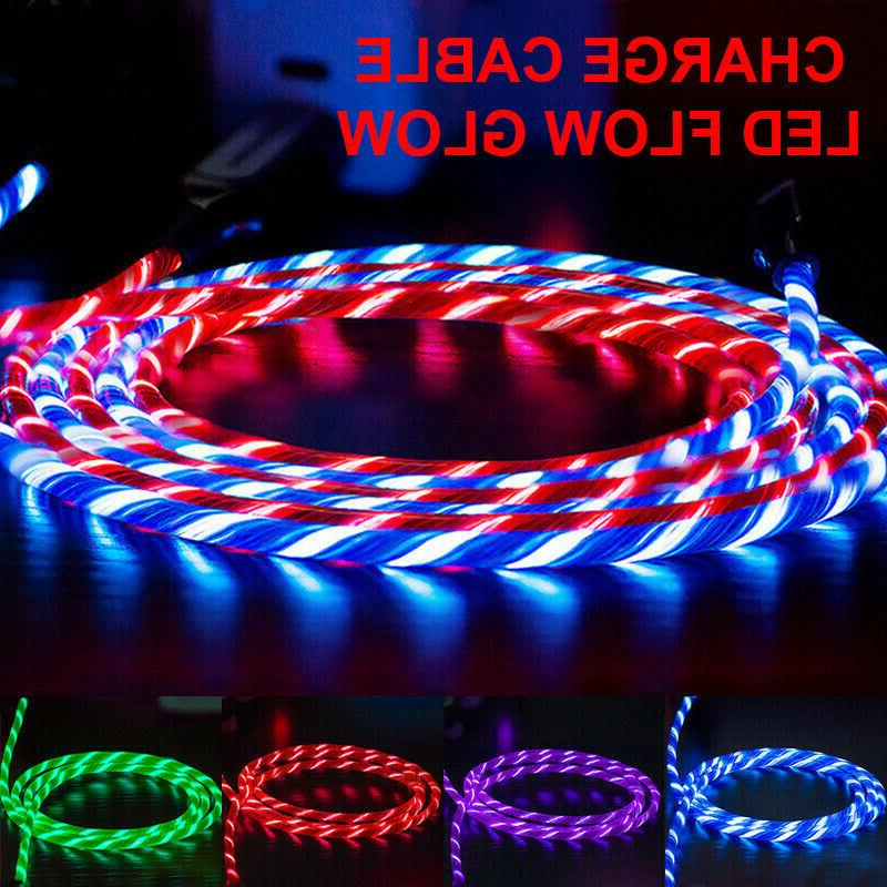 led glow fast charging usb charger cable