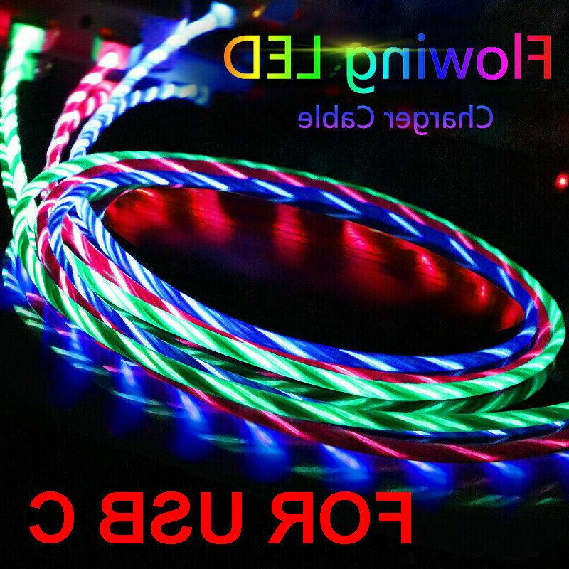 LED Glow USB Cable iPhone 11 Max XR 8