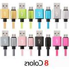 Micro USB Cable Fast Charger Data Sync Braided Cord For Sams