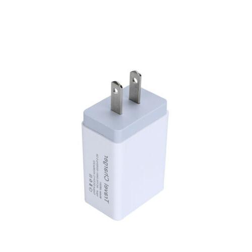 Dual 5V 2.4A Travel Wall Charger Charging US
