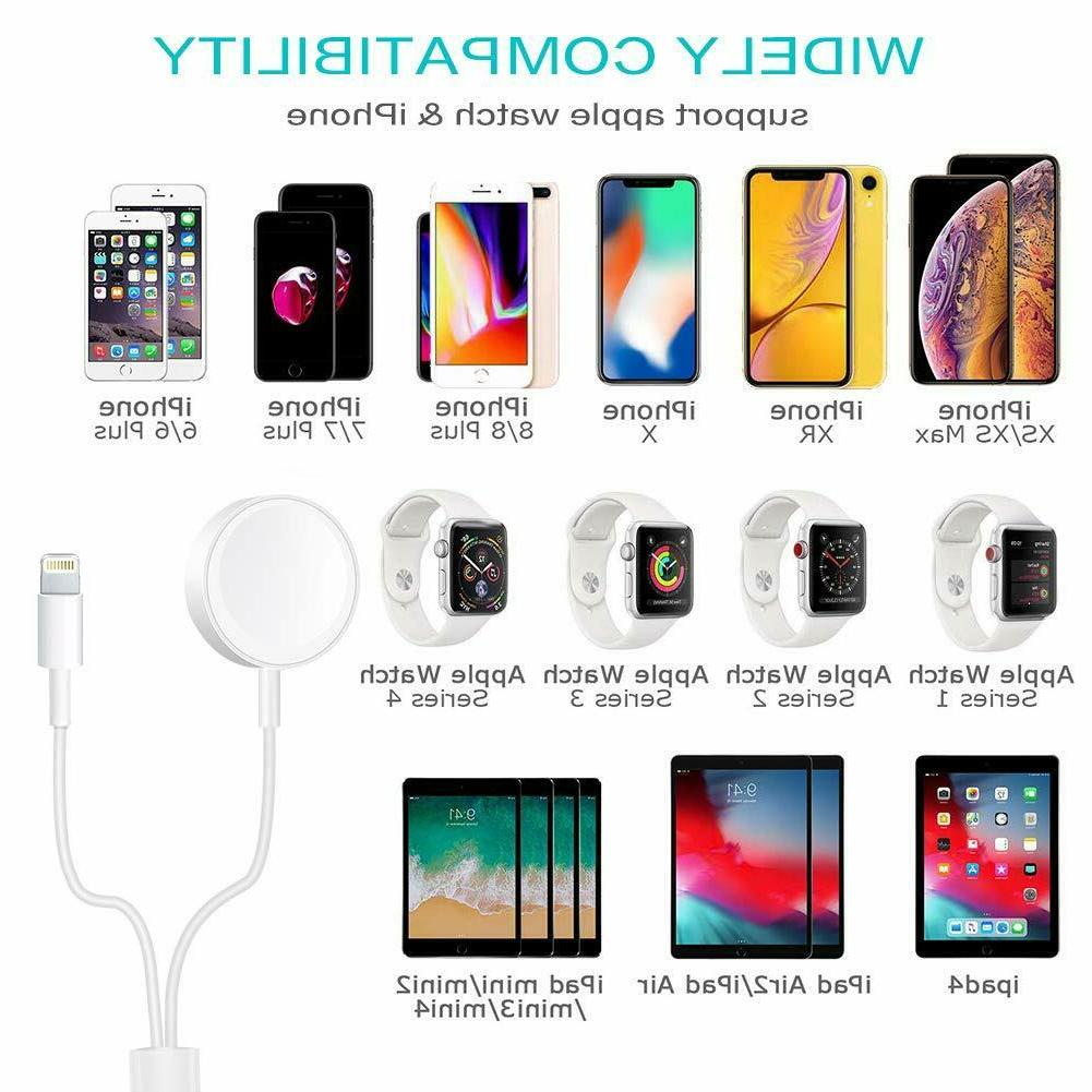 Magnetic Charger Cable For Apple iWatch iPhone