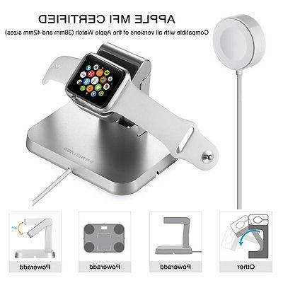Magnetic Charging Charger Stand Watch iWatch Series