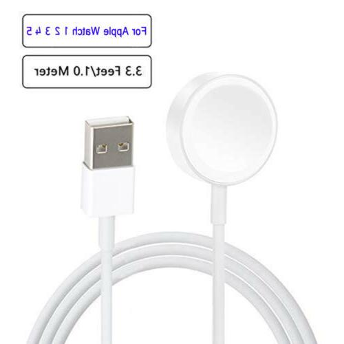 Magnetic Charging Dock USB Charger Cable For Watch iWatch Series 4