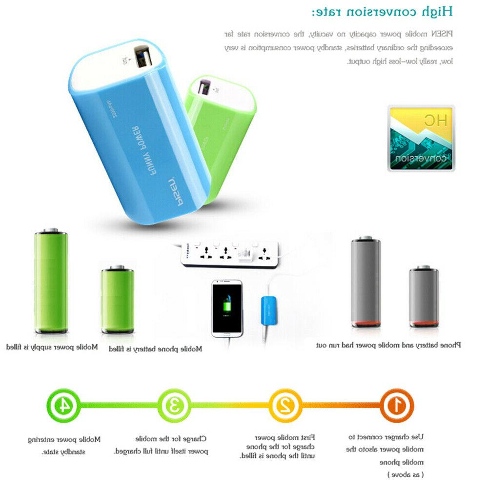 Mini Portable Bank Charger with