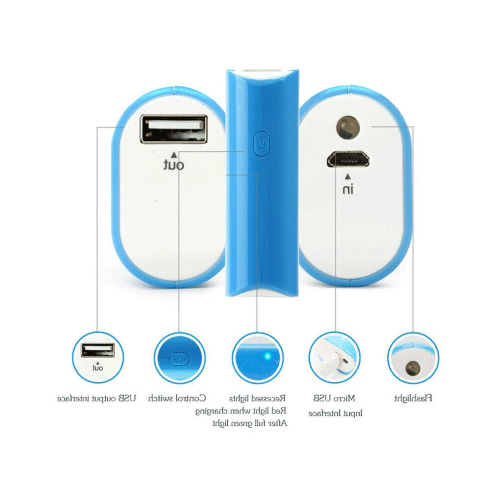 Mini Portable 2500mAh USB Charger with