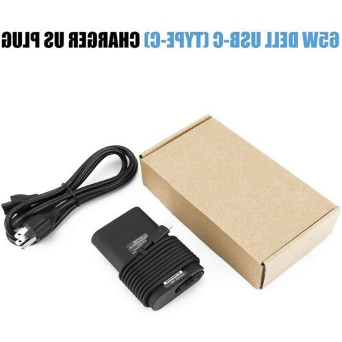 NEW 65W USB-C Charger Adapter Dell Latitude 7370