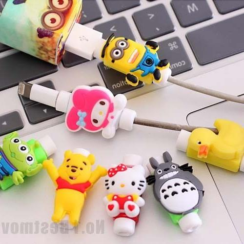 New Cute USB Data Charger Cable Saver Protector for iPhone 5