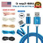 Nylon Strong Braided Rope USB-C Type-C 3.1 Data Sync Charger