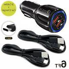 OEM Fast Charging Car Charger USB Type C Cable for LG G6 V20