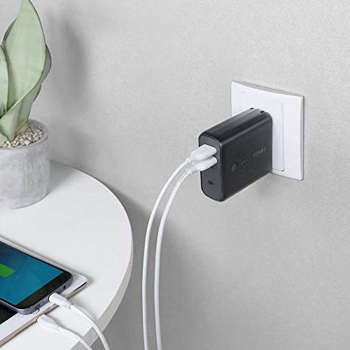 Anker PowerCore Charger 5000mAh with USB Plug Pack for Android, Samsung Galaxy More