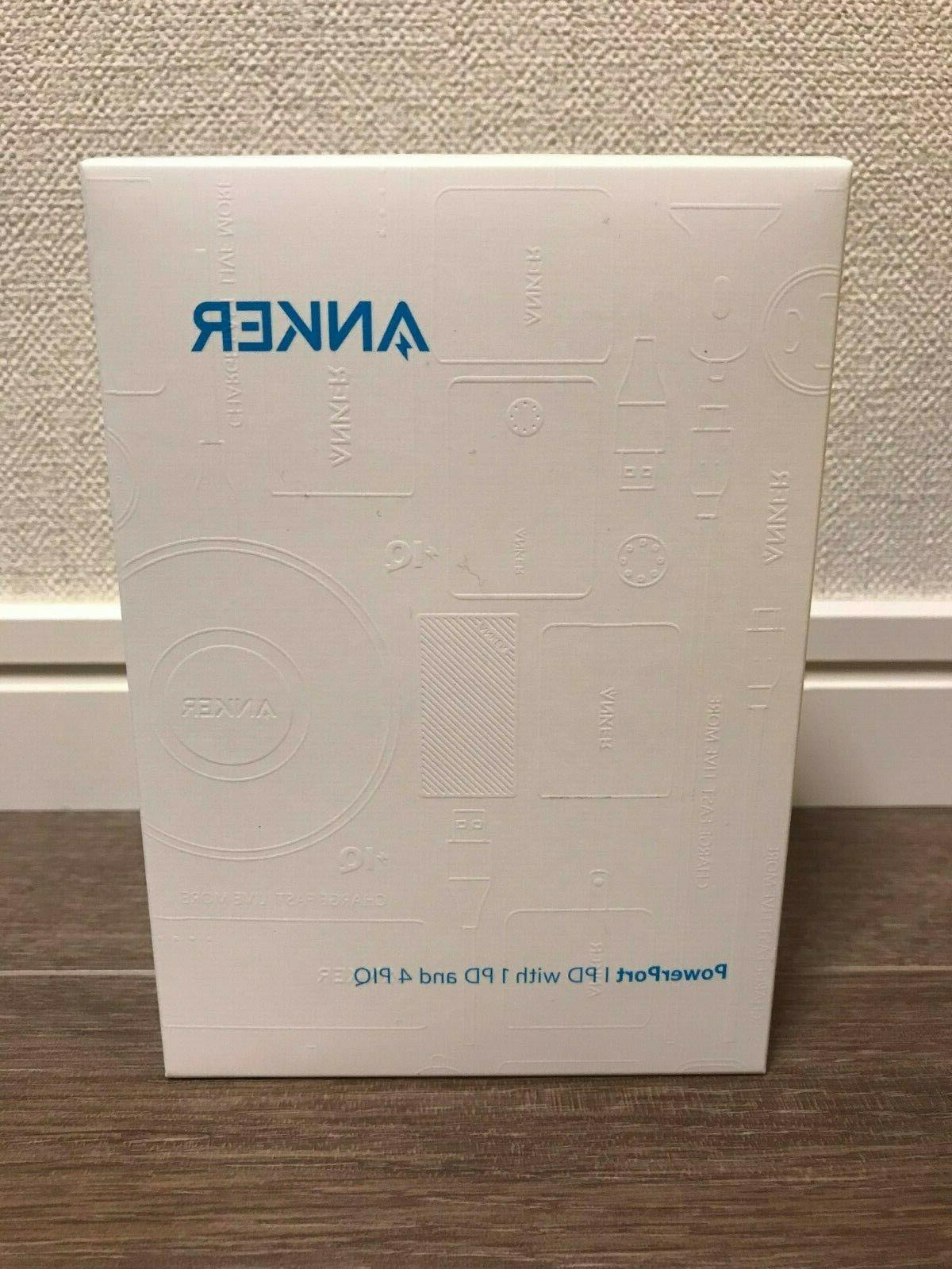 Anker PowerPort USB-C fast charger black iPhone XS XS Max XR