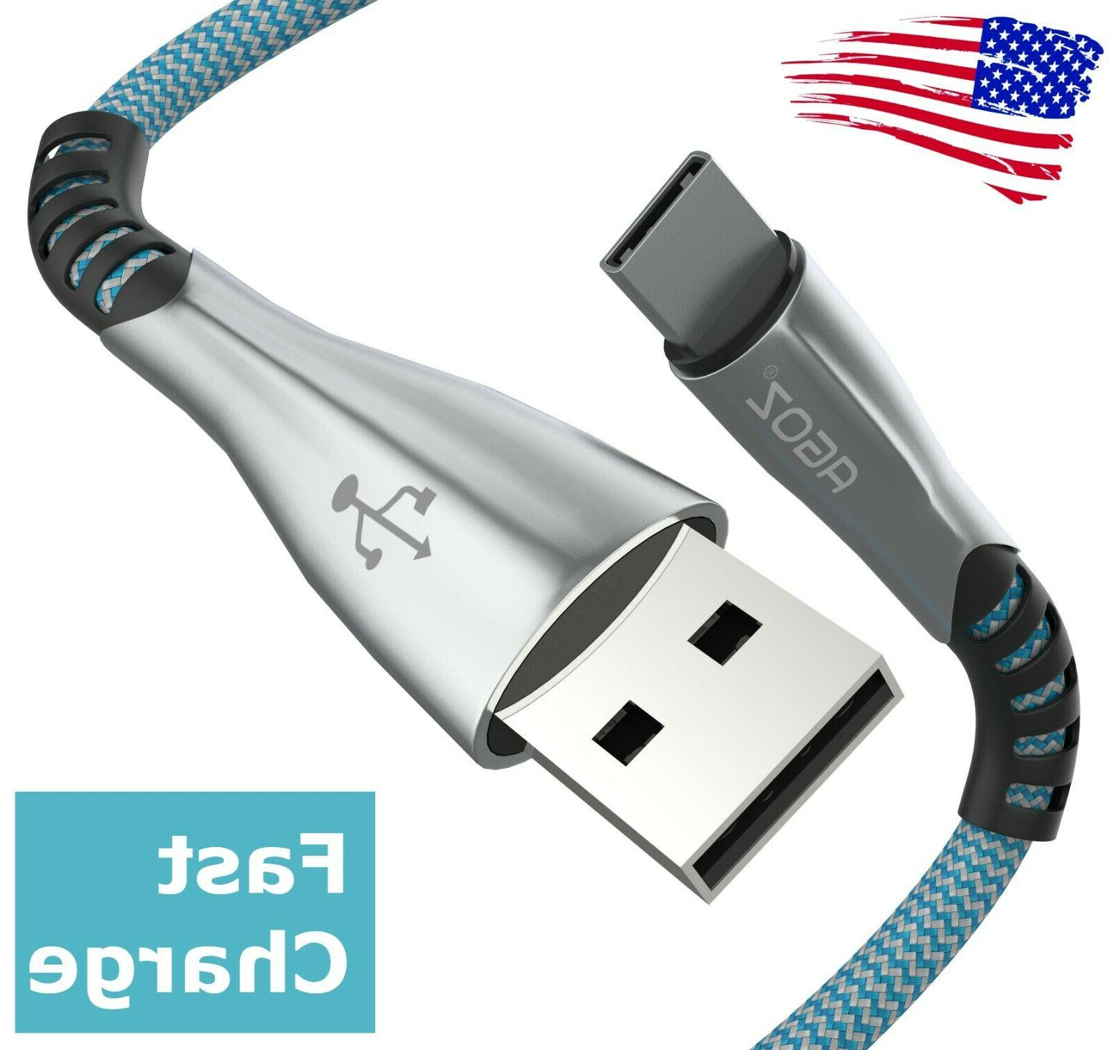 premium type usb c cable fast charger