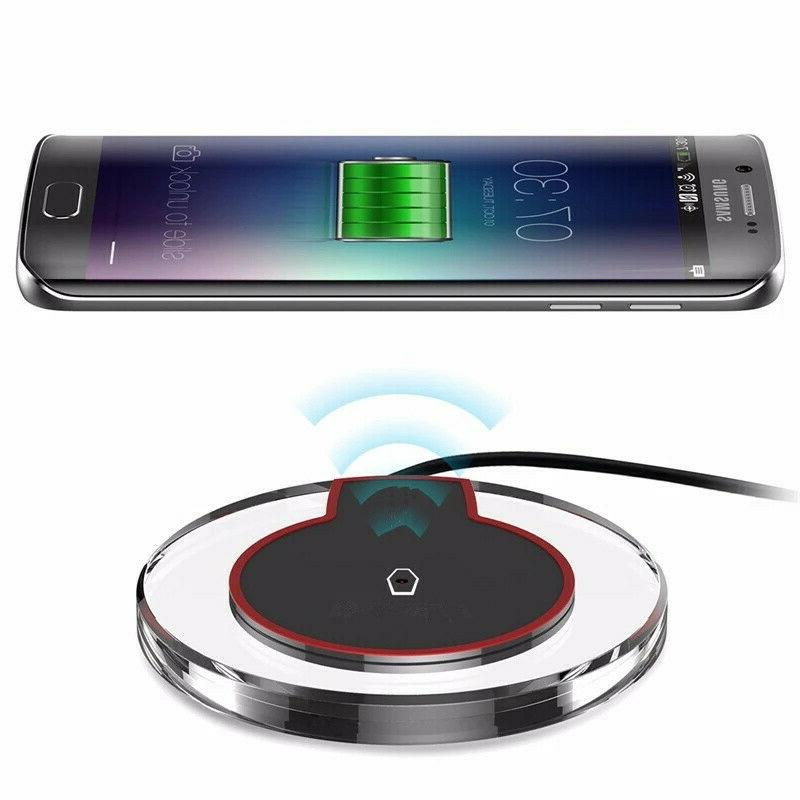 Qi Charger Pad for Samsung S8 Plus Plus Note