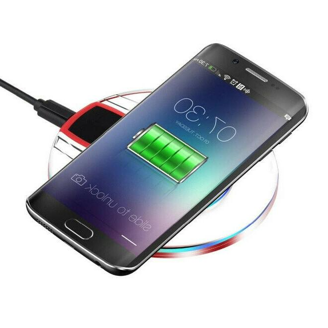 qi wireless charger charging pad for samsung