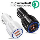 Qualcomm QC3.0 Certified Quick Charge Dual 2 USB Port QC3.0