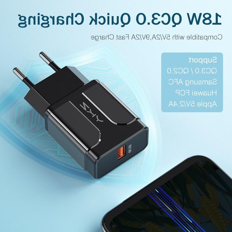YKZ 18W 4.0 Fast Charging For Samsung Huawei