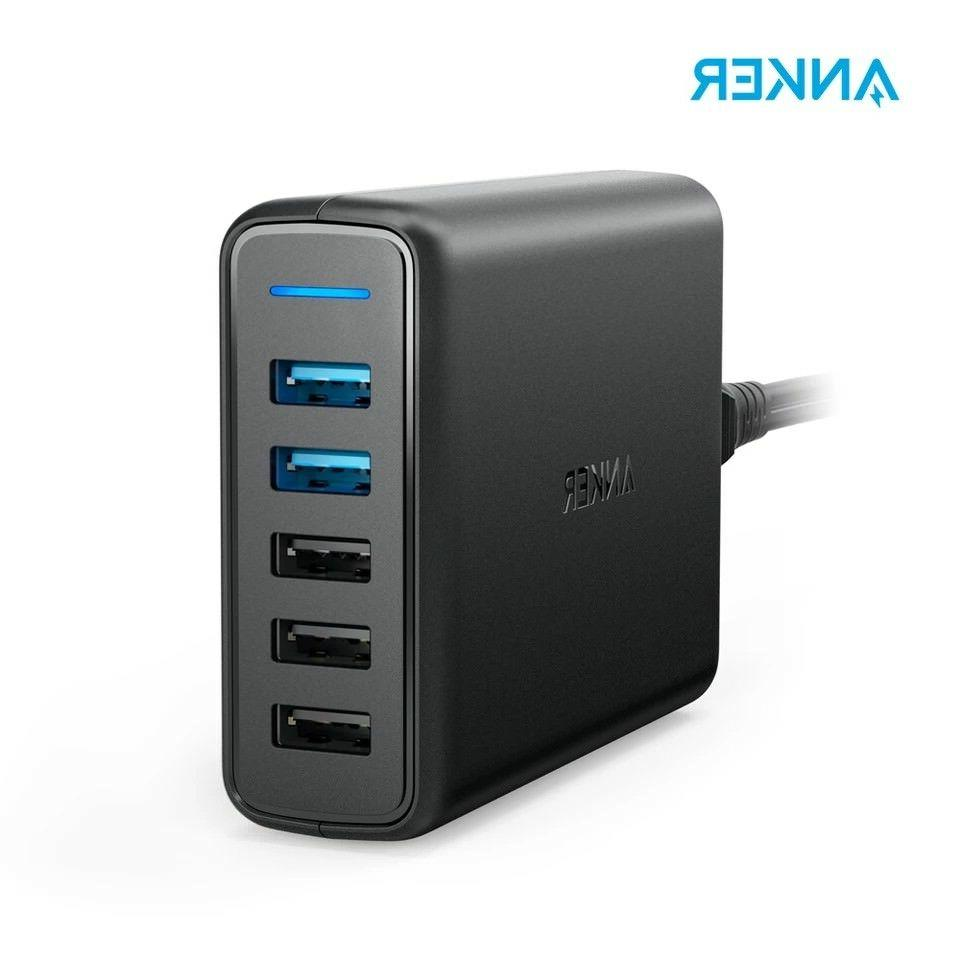 quick charge 3 0 63w 5 port