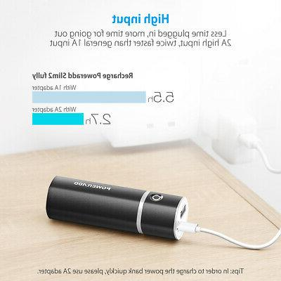 Poweradd Power Bank USB Battery Portable for Phone