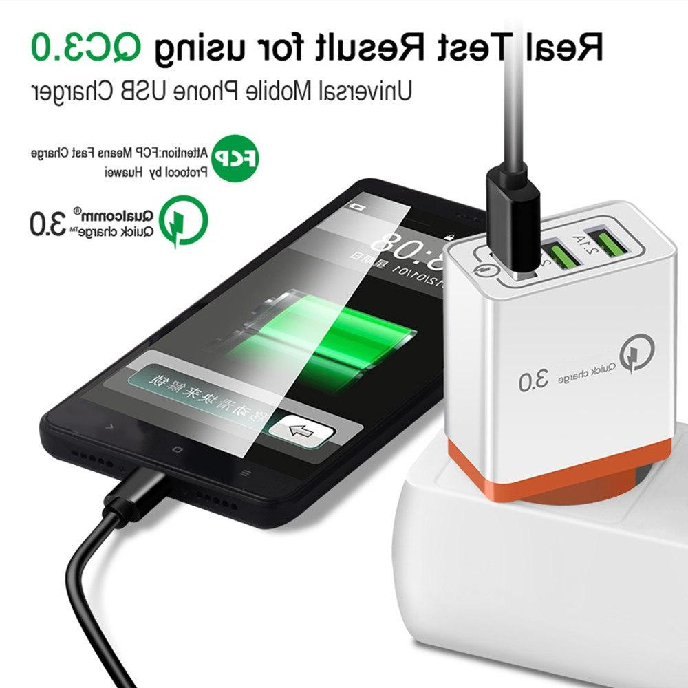 Quick charge 3A for 6 7 8 Plug Mobile <font><b>Phone</b></font> <font><b>charger</b></font> charging s9