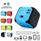 Universal Travel USB Power Adapter Electric Charger World Co